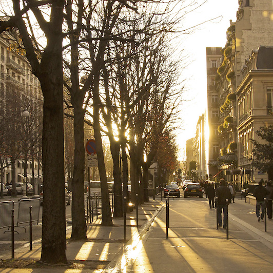 L'Entracte- vue rue Montaigne